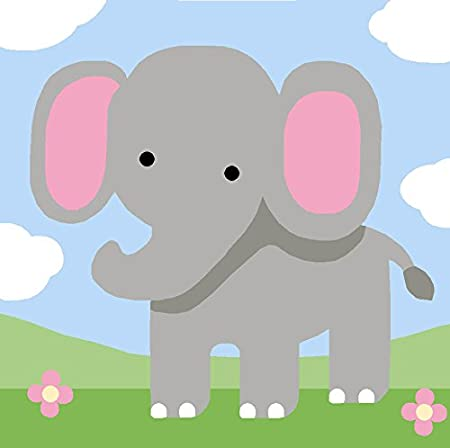 Royal Paris Tapestry Tela Per Il Ricamo I Bambini Elefante