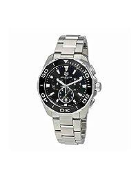 Tag Heuer Aquaracer Chronograph Black Dial Mens Watch CAY111A.BA0927
