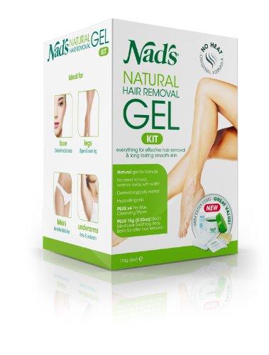 NAD, натуральных волос Гель для удаления Kit