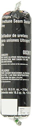 (3M 08361 Ultrapro Gray Urethane Seam Sealer - 310 ml Foil Pack )
