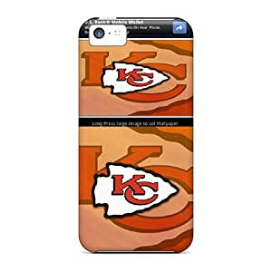 New Shockproof Protection Case Cover For Iphone 5c/ Kansas City Chiefs Case Cover