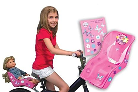 Asiento Muñeca de bicicletas - paseo a lo largo del asiento de la ...