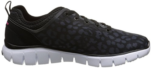 Skechers Flex Power Player - Zapatillas Mujer Negro (noir/blanc)