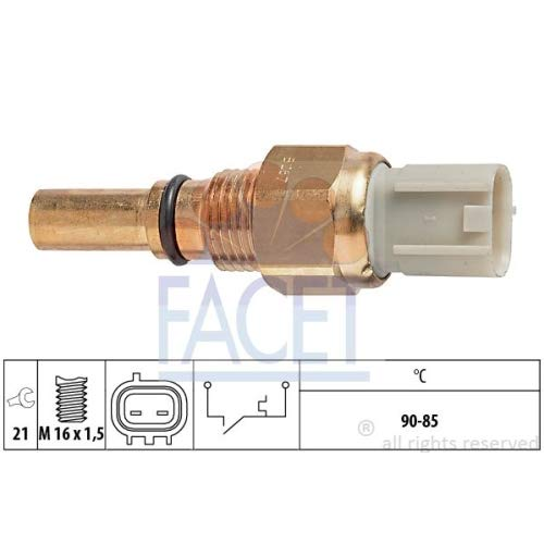 Facet 7.5267 Temperature Switch, radiator fan: