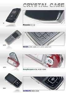 SBM Crystal Case-Carcasa transparente para Sony Ericsson/w550i
