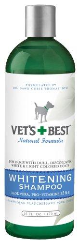 Vet's Best Whitening Dog Shampoo, 16 Ounces