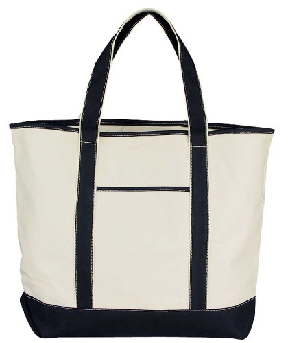 22-extra-large-shopping-tote-grocery-bag-with-outer-pocket-in-black