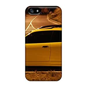 Fashion Tpu Cases For Iphone 5/5s- Bmw Yellow Tuning Defender Cases Covers