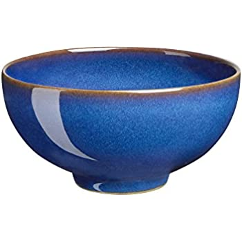 Amazon Com Denby Imperial Blue Rice Bowl Denby Reflex