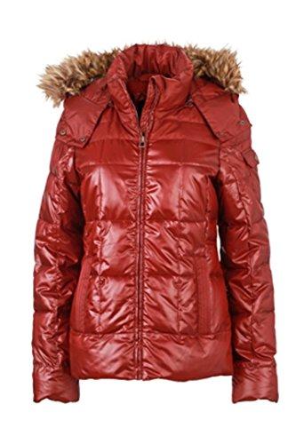 Puffer JN1083 Women's Padded amp; Winter Dark red Nicholson Jacket XXL James waA4p