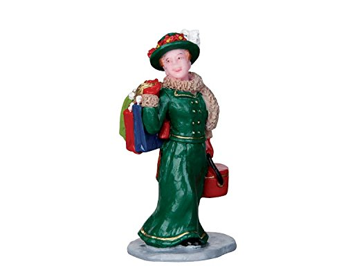 Lemax Village Collection Vintage Jolly Holiday Shopper # (Vintage Shopper)
