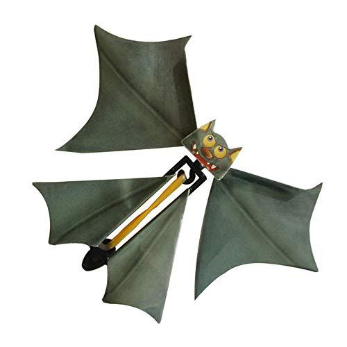 Magic Flying Bat, Anytec 3PC Wind up Bat Flutter Card Prank Flying Paper Bats for Funny Halloween Card Gift Toys for $<!--$8.99-->