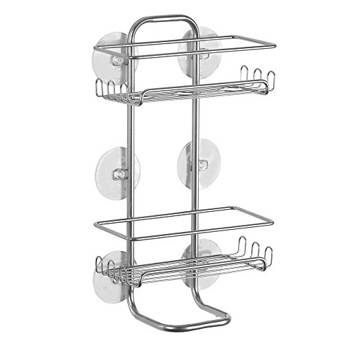 InterDesign Classico Suction Bathroom Caddy