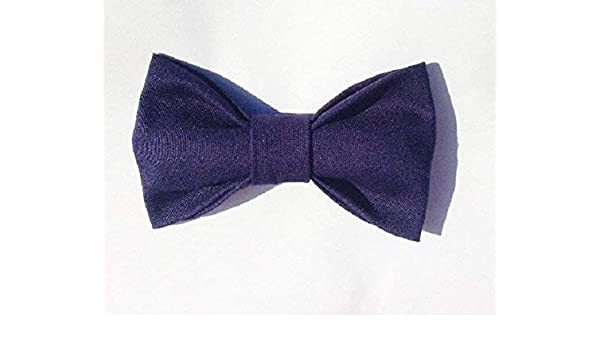 8a9e2100ea58 Amazon.com: Navy Blue Baby Toddler Kids Clip On Bow Tie: Handmade