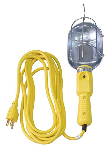 ATE Pro. USA 70062 Trouble Light, 50', 18 Gauge, 3-Prung