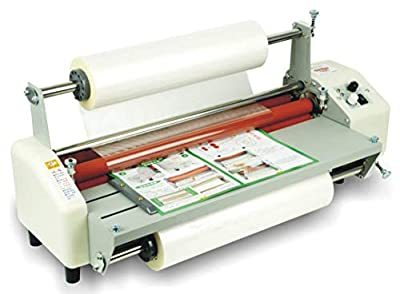 """Hanchen Thermal Laminator, Hot and Cold Four Rollers A2 Paper Document Photo Laminating Machine 17.52"""" (440mm), Quick Warm-Up One Year Warranty (110V)"""
