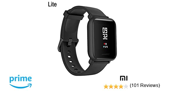 Xiaomi Amazfit Bip Lite SmartWatch Monitor de Actividad Fitness ...