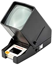 KODAK 35mm Slide and Film Viewer - Battery Operation, 3X Magnification, LED Lighted Viewing – for 35mm Slides & Film Negatives