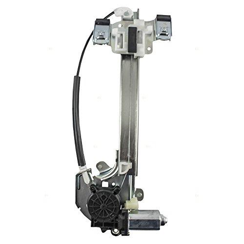 Passengers Rear Power Window Lift Regulator with Motor Assembly Replacement for Buick 15231244 AutoAndArt