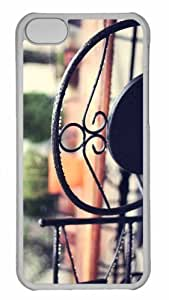 Customized iphone 5C PC Transparent Case - Wet Chair Personalized Cover