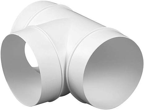 Round Plastic Vent Ventilator for 3 inch Tube Hose Black