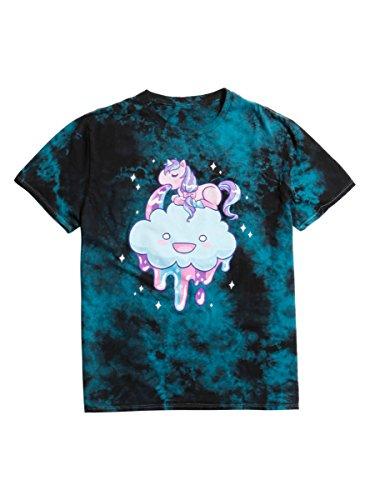 Hot Topic Unicorn Vomit Tie Dye T Shirt