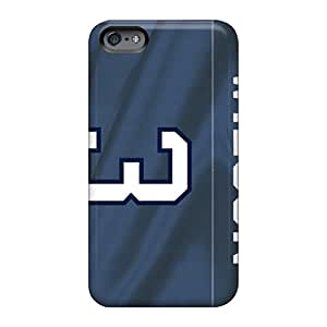 Scratch Resistant Hard Phone Cover For Apple Iphone 6 (CIw1755RukK) Customized Beautiful Seattle Seahawks Pattern