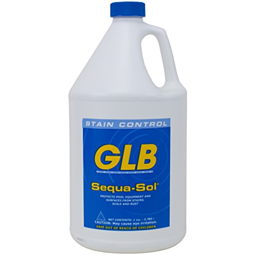 GLB Pool & Spa Products 71018 Sequa-Sol 1-Gallon Sequestering Agent