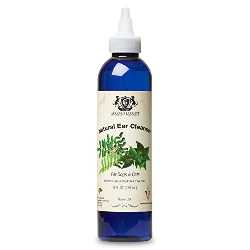 Gerrard Larriett Aromatherapy Pet Care Natural Ear Cleanser Dogs & Cats - 8 FL oz (236 mL) by Gerrard Larriett Aromatherapy Pet Care