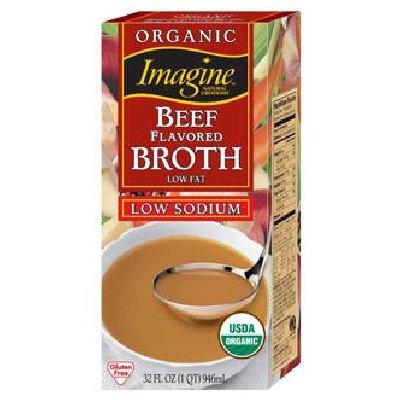 Imagine Foods Beef Broth 24x 32OZ