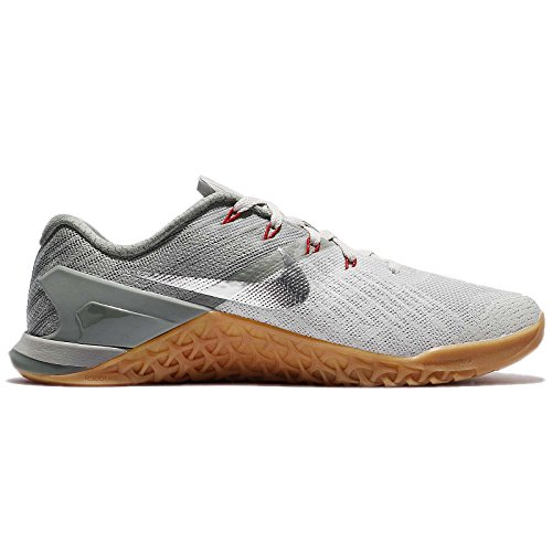Nike Pale Metcon 3 Dark Estuco Pale Nike Metallic Silver Pale Gris Hombres 94967d