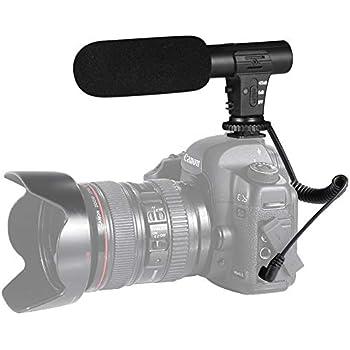 Amazon com : Movo VXR1000 Mini HD Shotgun Condenser