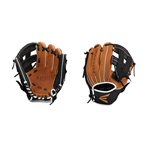 Easton Scout Flex Youth Series Baseball Glove, Left Hand Throw, 10