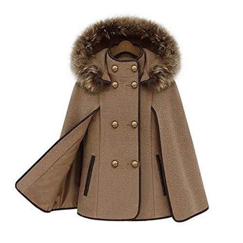 l 39 hiver d 39 hiver trench femme manteaux d tachable camel nouveau en ch le de usure laine. Black Bedroom Furniture Sets. Home Design Ideas