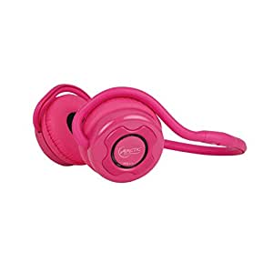ARCTIC P311 Bluetooth Stereo Headphones, Integrated Microphone, 20-Hr Playback - Pink