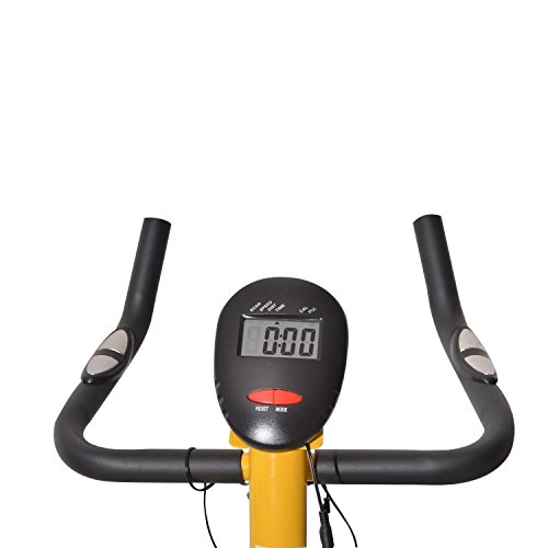 Home Trainer Exercise Bike Upright Indoor Cycling Stationary Cardio Fitness Burn Fat - House Deals