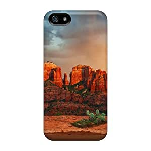 New Snap-on Dana Lindsey Mendez Skin Case Cover Compatible With Iphone 5/5s- The Wonder Of Rainbows