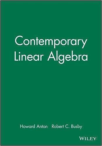 Contemporary Linear Algebra, MATHEMATICA Technology Resource
