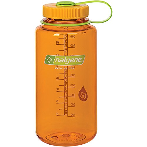 Nalgene WM 1 QT Clementine Bottle, 32 oz by Nalgene