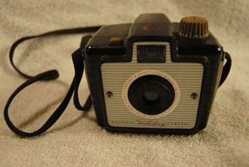 VINTAGE 1950s KODAK BROWNIE HOLIDAY FLASH CAMERA (Kodak Holiday Flash Camera)
