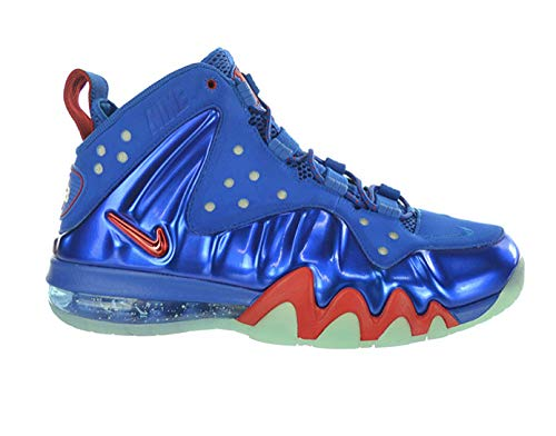 Nike Air Barkley Posite Max 76ers Mens Basketball Shoes 555097-300 Energy 7.5 M US (Barkley Posite Max Metallic Silver Gamma Blue)