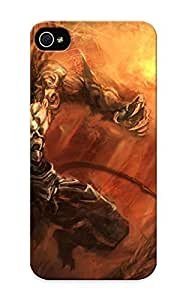 meilinF00031ccaa03712 New iphone 4/4s Case Cover Casing(demon Darksiders Drawing Sword Warrior Fantasy )/ AppearancemeilinF000