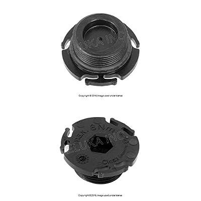 BMW Genuine Engine Oil Pan Drain Plug With O-Ring X1 28i Z4 28i 528i 528i 228i 320i 328i 328i 428i 428i 328i 428i: Automotive
