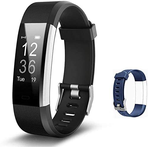 TOPLUS Smart Watch, Fitness Tracker with Sleep Monitor, Heart Rate Monitor, Activity Tracker with Built-in GPS, Calorie Counter, Fitness Watch for Women and Men