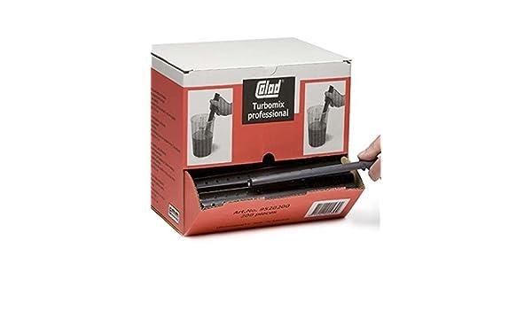 COLAD Turbomix Agitador/varilla mezcladora 30 x 3 cm/200 unidades en caja dispensadora: Amazon.es: Coche y moto