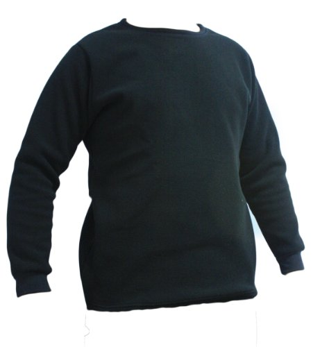 KENYON Men's Polyester Expedition Fleece Top, Black, Large