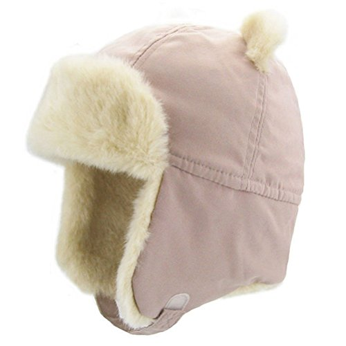 Moon Kitty Baby Girls Winter Hats Rabbit Ears Earmuffs (Rabbit Moon Baby Girl)