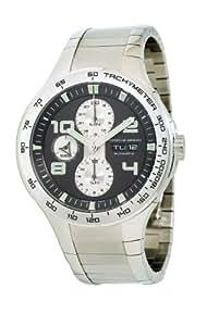 Porsche Design P.6340 634041440251 - Reloj analógico automático para hombre, correa de acero inoxidable color plateado
