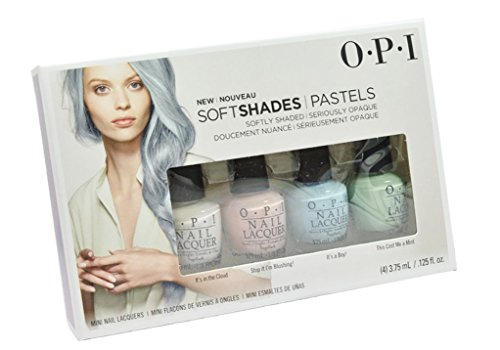Price comparison product image Nail Polish Lacquer Soft Shades Collection Mini kit (It's in the Cloud - T71 Stop it i'm Blushing! - T74 It's a Boy! - T75 This Cost Me a Mint - T72) | Each size 3.75 ml