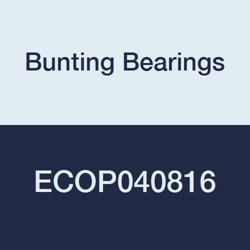- Bunting Bearings ECOP040816 ECO Oiled Sleeve (Plain) Bearing, Powdered Metal, SAE 841, 1/4